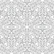 Stock Vector: Grey seamless pattern
