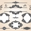 Vetorial Stock : Vintage design elements set