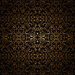 Stockvektor : Dark gold pattern