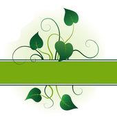Foglie verdi — Vettoriale Stock
