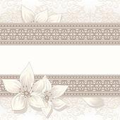 Vintage beige background — Stock Vector