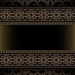 Vintage gold background - Stock Vector