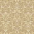 Gold seamless pattern — Vector de stock #26227991