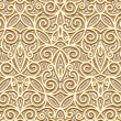 Stock vektor: Gold seamless pattern