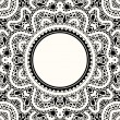 Lace frame — Stock Vector #27474539