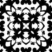 Monochrome pattern — Stock Vector