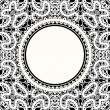 White lace background — Stock Vector