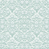 Pale green pattern — Stock Vector