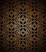 Dark gold pattern — Stockvector