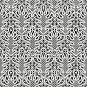 белый кружевной узор — Cтоковый вектор