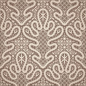 Old lace pattern — Stock Vector