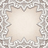Old lace background — Vector de stock