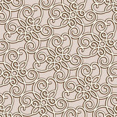 Seamless lace pattern — Vector de stock