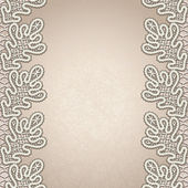 Old lace background — Wektor stockowy