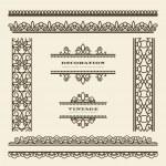 Vintage borders — Stock Vector #40010213