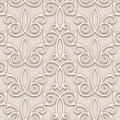 Stock Vector: Seamless beige pattern