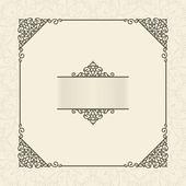 Vintage frame — Cтоковый вектор
