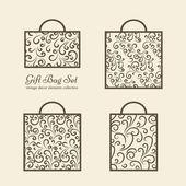 Shopping bags — Stock Vector