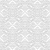 白色无缝模式 — 图库矢量图片