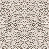 Lacy beige pattern — Stock Vector