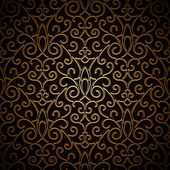 Vintage gold pattern — Vector de stock