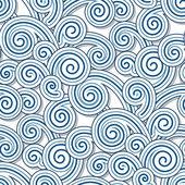 Swirly waves — Stock Vector