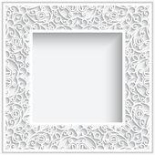 Marco de papel cuadrado — Vector de stock