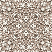 Beige seamless pattern — Stock Vector