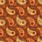 Autumn paisley pattern — Stock Vector #49518527