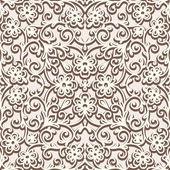 Beige seamless pattern — Stock Vector