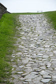 Ancient footpath — Stock Photo