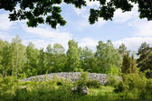 Cairn entierro — Foto de Stock