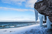 Icy cliffs — Stock Photo