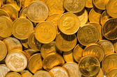 Background of golden coins — Stock Photo