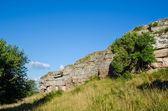Limestone Cliffs — Zdjęcie stockowe