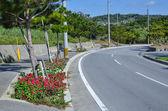 Okinawan street view — Stock Photo