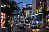 Main street, Naha, Okinawa — Stock Photo