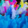 Coloured easter feathers — Stock Photo #43091347