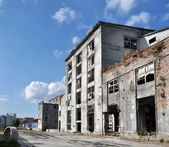 Factory ruins — Stock Photo