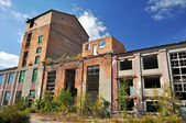 Ruiny staré továrny — Stock fotografie