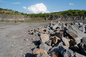 Stones in quarry — Stock Photo