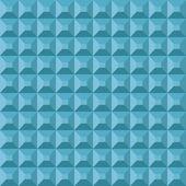 Geometric pyramidal pattern — Stock Vector