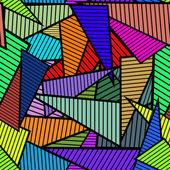 Dreiecke nahtlose muster — Stockvektor