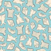 Bezešvé oblečení — Stock vektor
