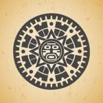 Maya sun — Stock Vector #25130649