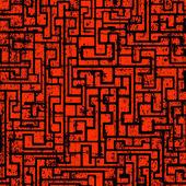 迷宫抽象无缝 — 图库矢量图片