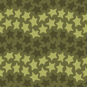 Stars seamless camo — Stock Vector