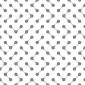 连接的滴无缝模式 — 图库矢量图片