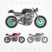 Modern road motorcycle — Stock Vector
