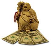 Hottey - god of wealth. — Stockfoto